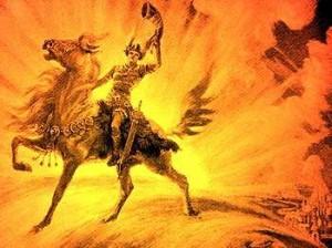 Gjallarhorn dibujo