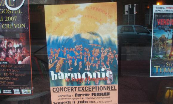 Concierto en Forges Les Eaux (Francia)