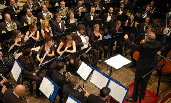 Dirigiendo a la Orchestra di Fiati Città di Soncino