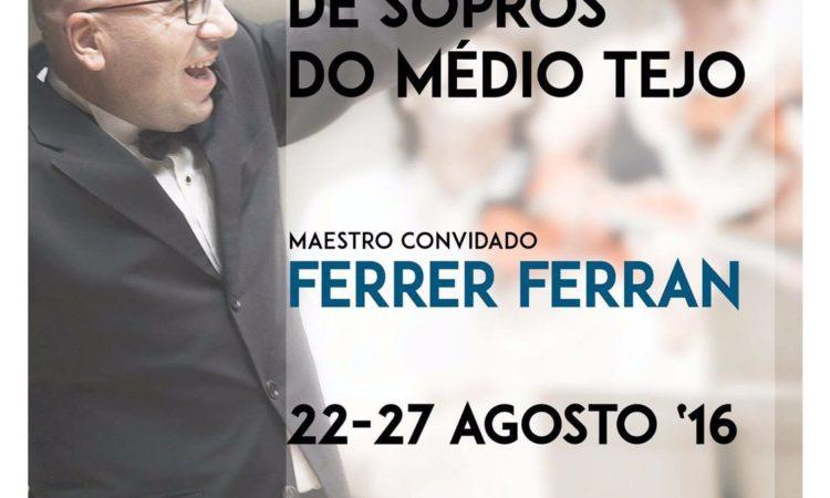 Estágio de Orquestra de Sopros Do Médio Tejo (Portugal) 2016