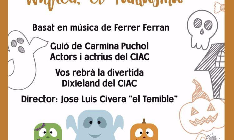 WILFRED EL FANTASMA cuento musical