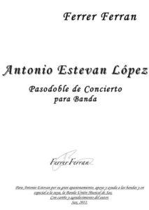 Antonio Estevan Lopez